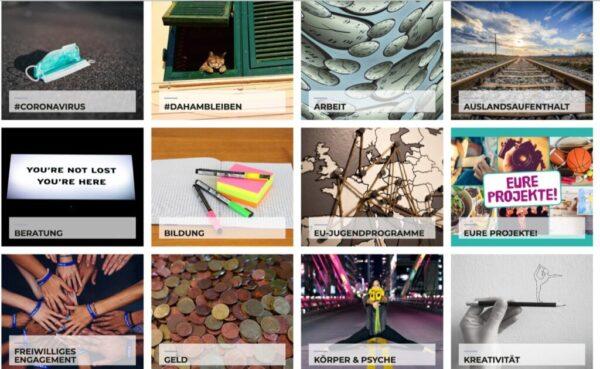 Das Bild von der Webseite der wienXra-Jugendinfo zeigt Gesundheit ist ein wichtiges Thema